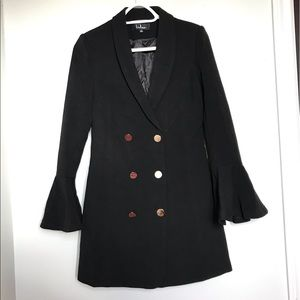 Lulu's Light Coat with Bell Sleeves